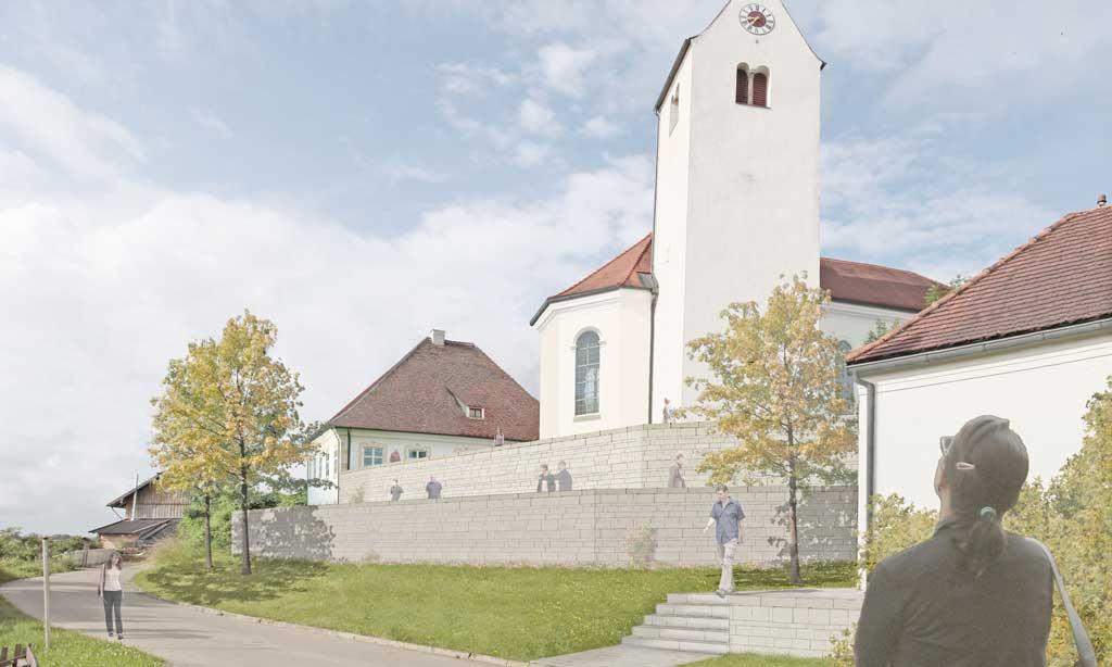 Alter Friedhof Epfach - Vorschau