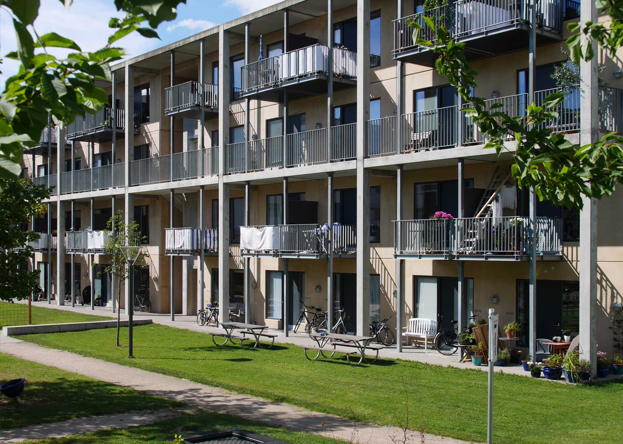"""Magnet Housing """"Flintholm""""   Landschaftsarchitektur Kopenhagen"""