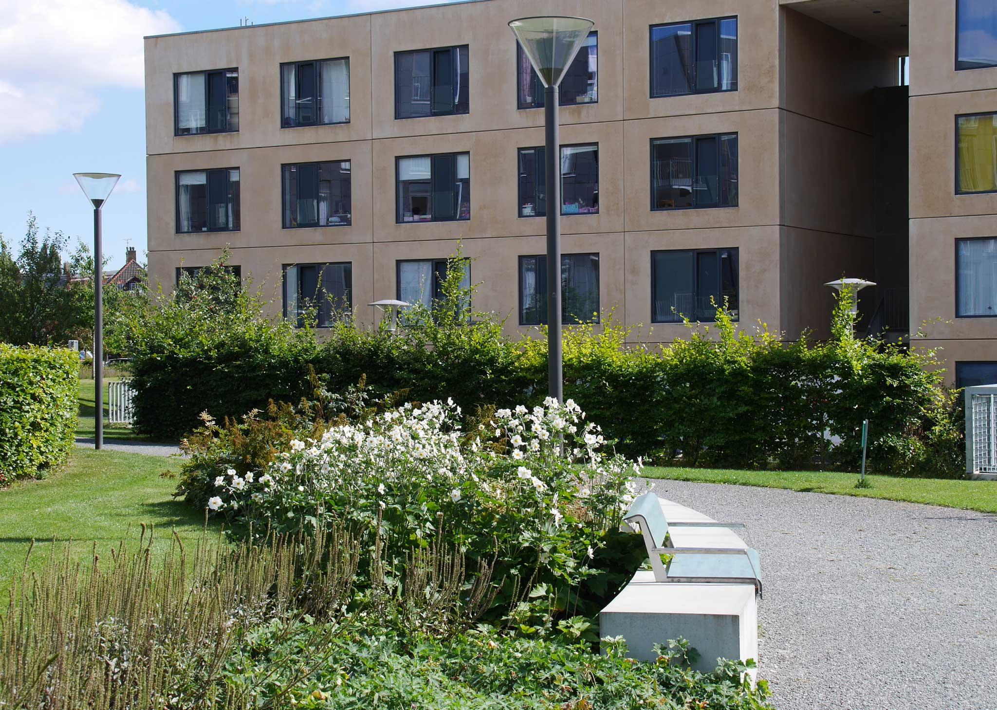 "Magnet Housing ""Flintholm""   Landschaftsarchitektur Kopenhagen -Weg"