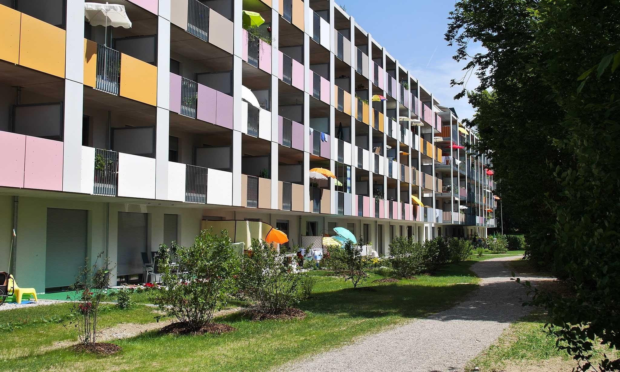 Wilhelmine-Lübke-Haus Landschaftsarchitektur Außenanlagen