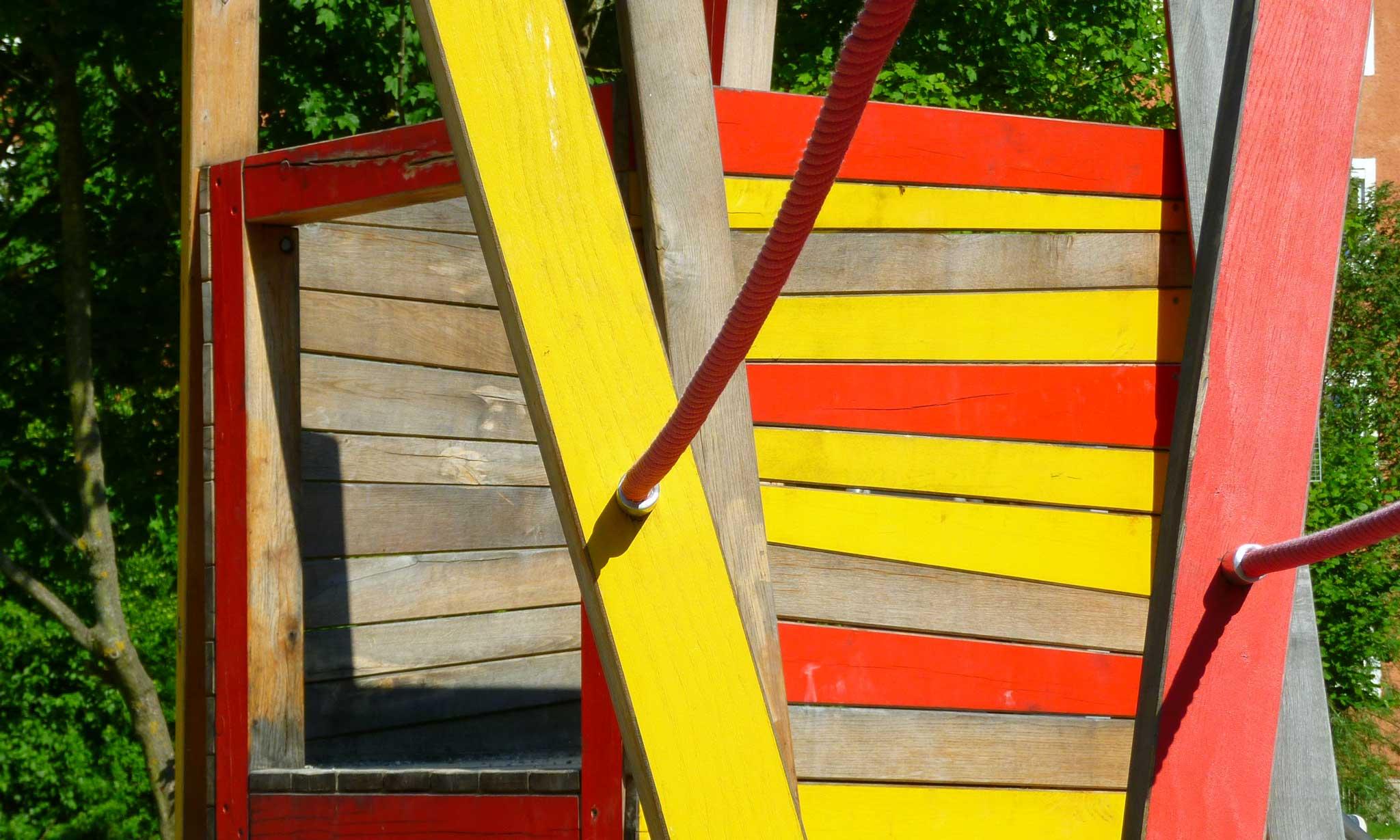 """Wohnanlage """"Berg am Laim"""" - Detail Spielplatz"""