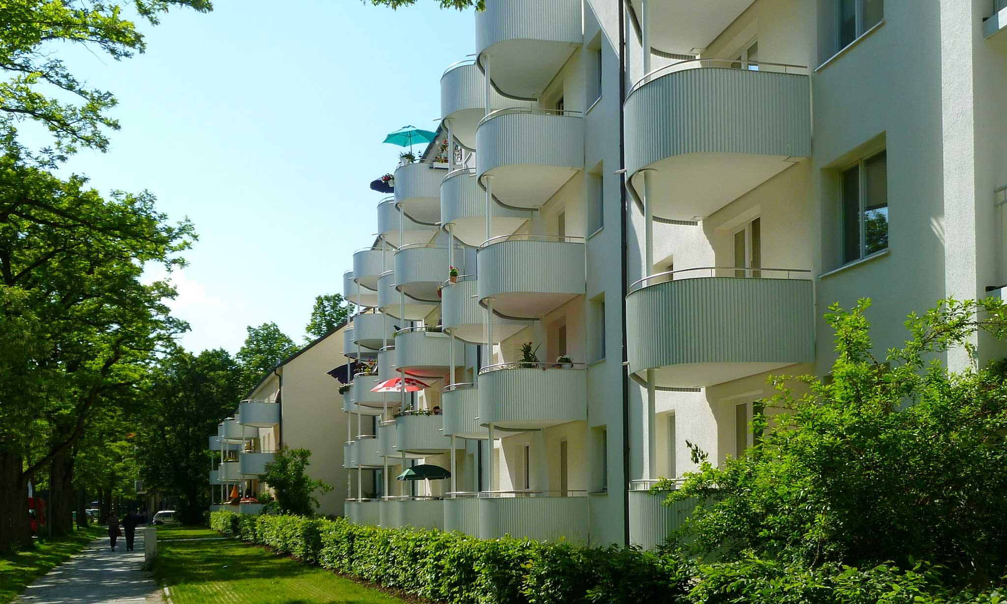 """Wohnanlage """"Berg am Laim"""" - Gestaltung Außenanlagen"""