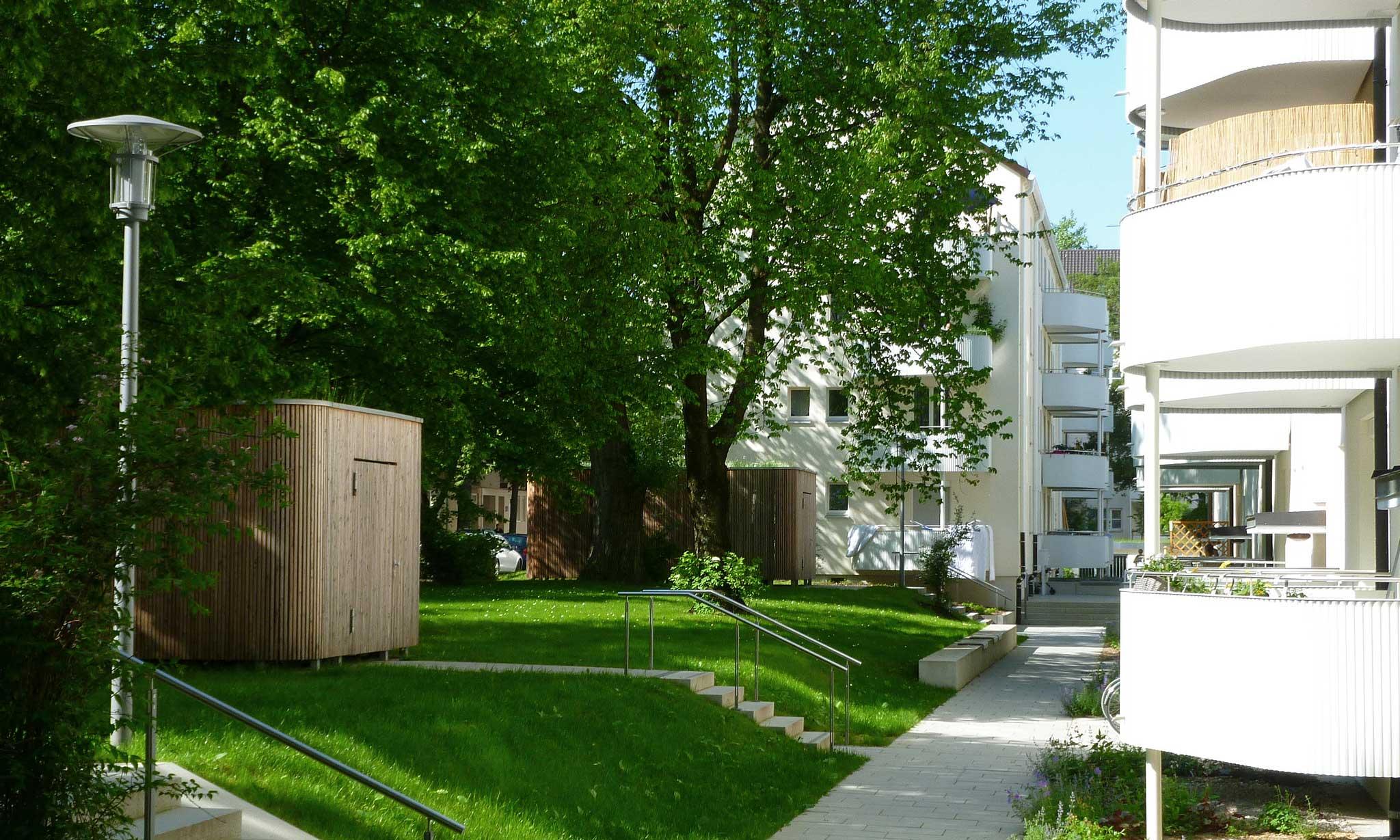 """Wohnanlage """"Berg am Laim"""" - Landschaftsarchitektur"""
