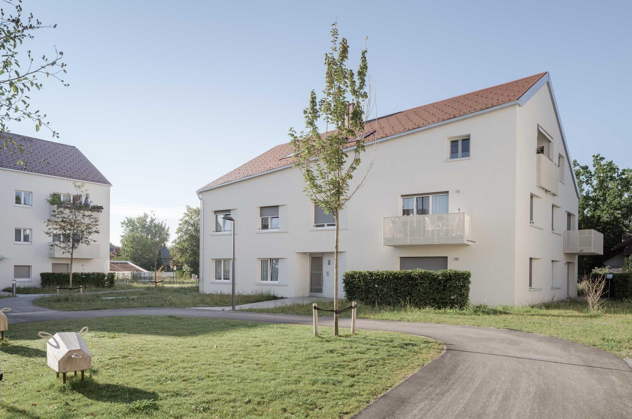 Landschaftsarchitektur Wohnanlage Grünwald - Erschließung