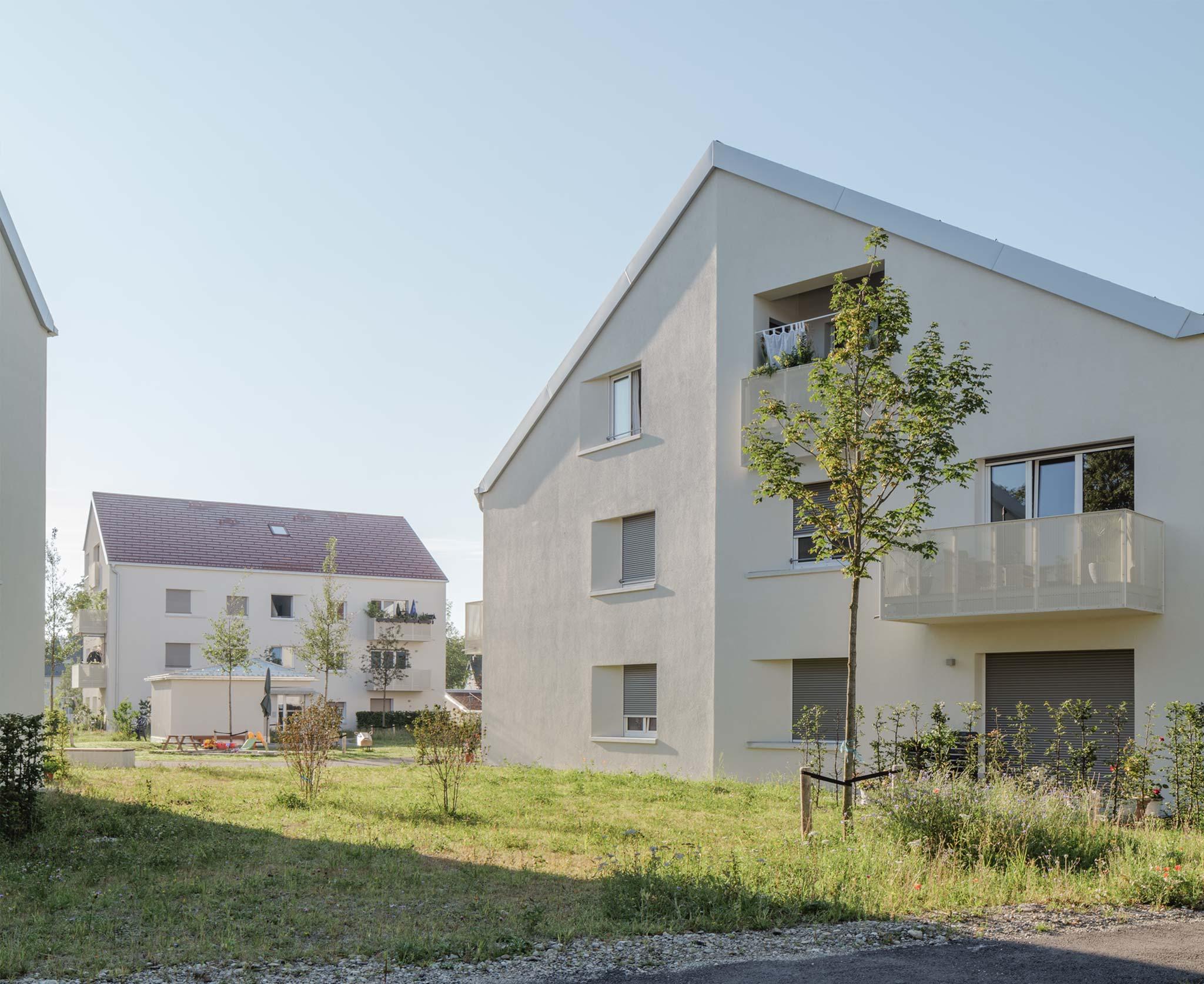 Landschaftsarchitektur Wohnanlage Grünwald - Detail