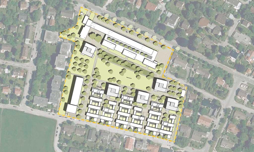 Realisierungswettbewerb Landschaftsarchitektur Ehemaliges AOA-Gelände - Vorschau