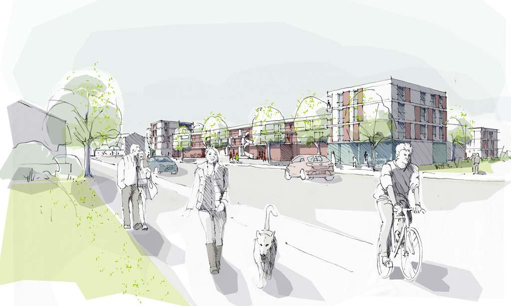 Wohnbebauung Nordwest Vaterstetten - Städtebau - Vorschau